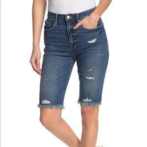 Frame Le Vintage Bermuda Cuttoff Shorts Sz 27 NWT